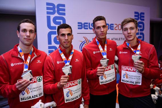 Deux Medailles Pour La Belgique Au Championnat D Europe D
